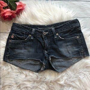 Big Star Liv Cut Off Jeans Shorts